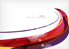 Yellow and purple color lines, abstract background Royalty Free Stock Images