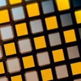 Yellow Purple Matrix Stock Photo