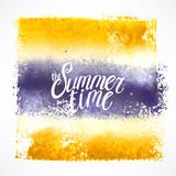 Yellow and purple stroke background Royalty Free Stock Photos