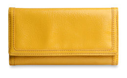 Yellow purse Royalty Free Stock Photography
