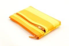 Yellow purse Royalty Free Stock Photos