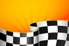 Yellow racing background Royalty Free Stock Photo