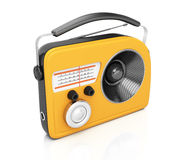 Yellow radio Royalty Free Stock Photography