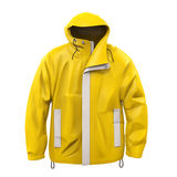 Yellow Rain Coat Stock Image