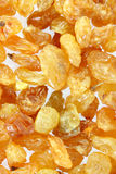 Yellow raisins (sultana) Royalty Free Stock Images