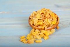Yellow raisins or sultanas Stock Photo