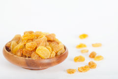 Yellow raisins or sultanas Stock Photos