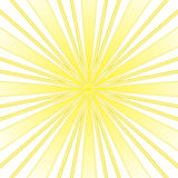 Yellow rays abstract background Royalty Free Stock Photo