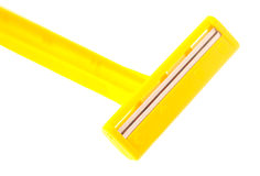 Yellow razor Stock Photo