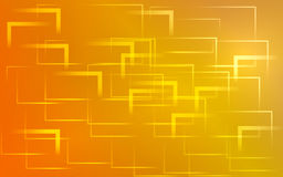 Yellow and red abstract background. Abstract  background design squares and angles Stock Photo