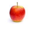 A yellow red apple Royalty Free Stock Photo