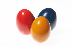 Yellow, red and blue Royalty Free Stock Photos