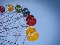 Big colorful carousel royalty free stock images