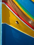 Yellow Red and Blue Surface Stock Photos