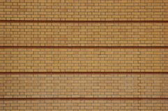 Yellow And Red Brick Texture Royalty Free Stock Photo