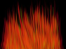 Yellow and red flames combination Royalty Free Stock Photography