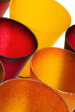 Yellow and red glasses Royalty Free Stock Images