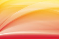 Yellow and red gradient curve background Royalty Free Stock Photo