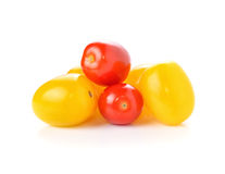 Yellow and red tomatoes Royalty Free Stock Image