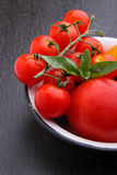 Yellow and red tomatoes, Stock Image