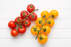 Yellow and red tomatoes Royalty Free Stock Photo