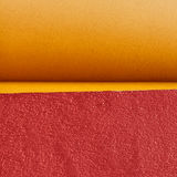 Yellow and red wall Royalty Free Stock Photography