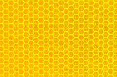 Yellow reflex Royalty Free Stock Image