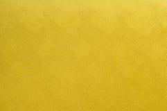 Yellow retro fabric Royalty Free Stock Image