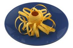 Yellow ribbon Royalty Free Stock Photo
