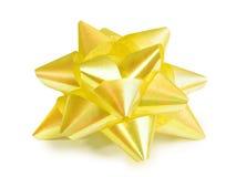 Yellow ribbon Royalty Free Stock Photography