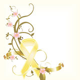 Yellow Ribbon Memorial Stock Photo