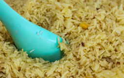 Yellow Rice Royalty Free Stock Photography