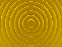 Yellow rings. Geometric background for Royalty Free Stock Photos