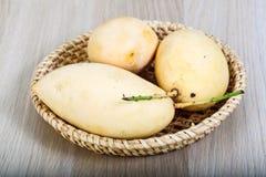 Yellow ripe mango Royalty Free Stock Photos