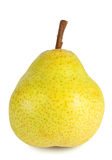 Yellow ripe pear Royalty Free Stock Photos