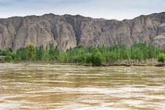 The Yellow River royalty free stock photography