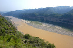 Yellow river Royalty Free Stock Images