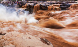 The Yellow River in China Stock Photos