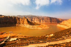 The Yellow River in China Royalty Free Stock Photos