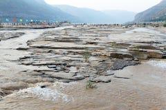 Yellow river of china Royalty Free Stock Photo