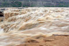 Yellow river of china Royalty Free Stock Image