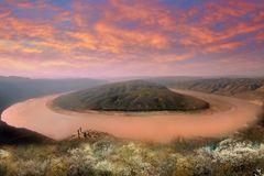 The Yellow River, China
