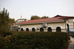 Yellow River Museum. Founded in 1955, the the Yellow River museum is located at the intersection of Bauhinia Road and Jinshui Road, Zhengzhou. It belongs to the stock image