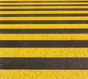 Yellow road marking Stock Photos
