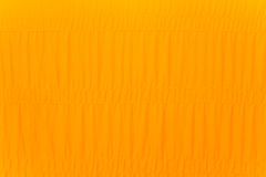 Yellow robe of Buddhist monk Stock Photos