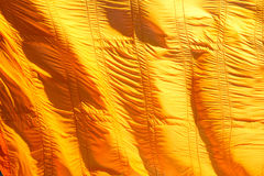 Yellow robe of Buddhist in Thailand. Stock Photography