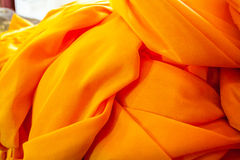 Yellow robe Royalty Free Stock Images