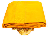 Yellow Robe isolated Royalty Free Stock Image