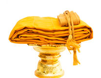 Yellow Robe isolated Royalty Free Stock Photo