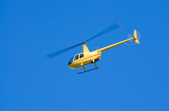 R-44 helicopter Stock Images